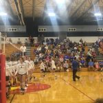 West Noble Tops Fremont in NECC Volleyball Action