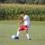West Noble High School Boys Varsity Soccer beat vs 												Prairie Heights Sr HS 9-1
