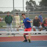 West Noble High School Boys Varsity Tennis falls to Lakeland High School 3-2