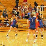 West Noble High School Girls Junior Varsity Volleyball falls to Northridge 2-1