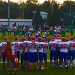 Chargers Edged By Blazers in Varsity Football 9-8