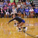 West Noble High School Girls Varsity Volleyball beat vs Lakeland HS 3-0