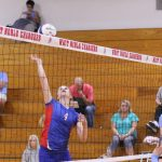 West Noble High School Girls Junior Varsity Volleyball falls to Goshen Blueblazers 2-1