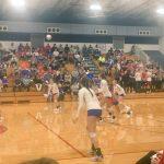 West Noble High School Girls Varsity Volleyball beat vs Blackhawk Christian School 3-0