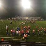 West Noble High School Junior Varsity Football beat vs Garrett H.S. 18-15