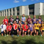 Lady Chargers Place 2nd in NECC CC Meet