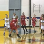 West Noble High School Girls Varsity Basketball beat Blackhawk Christian School 68-18