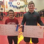 Chargers Finish 5th in Sectionals; Rasler and Weimer Win Championships