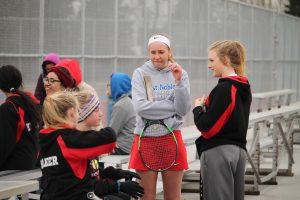 WN girls tennis pics vs. Northridge
