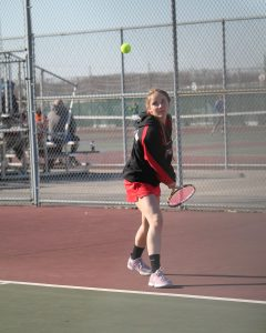 Girls Tennis Pics- West Noble vs. Wawasee