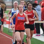Lady Chargers Finish 3rd in Goshen Track Meet