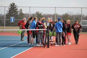 Girls Tennis Pics- WN vs. Lakeland