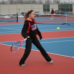 Girls Varsity Tennis falls to Bethany Christian 3 – 2