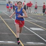 Lady Chargers Down Lakeland in Track