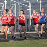 Chargers Down Panthers in Girls Track