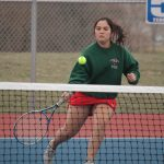 Girls Varsity Tennis falls to Angola 4 – 1