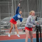 Girls Varsity Tennis falls to Fairfield 4 – 1