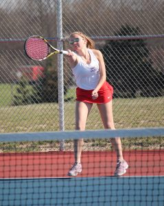Girls Tennis pics- WN vs. Fremont