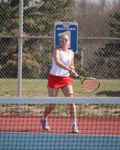 Girls Tennis Pics- WN vs. Fairfield