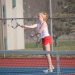 Girls Varsity Tennis falls to Central Noble 3 – 2