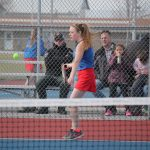 Girls Varsity Tennis beats Churubusco 4 – 1