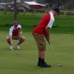 Boys Varsity Golf falls to Fremont 202 – 193