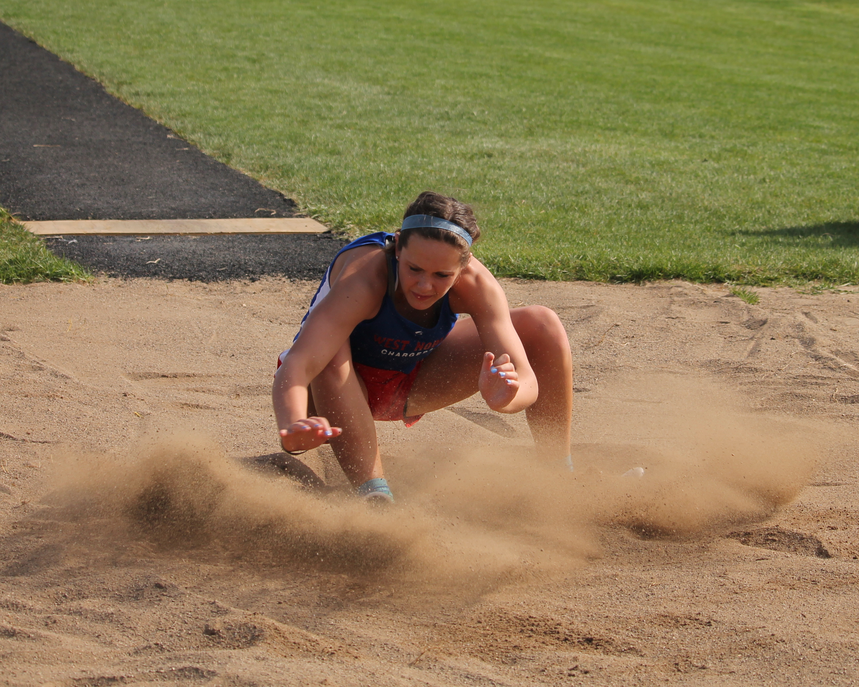Girls Track Team Finishes 5th in NECC Track Meet