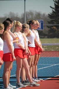 Girls Tennis pics- WN vs. Wawasee