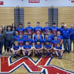 Charger Wrestlers Battle Busco