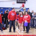 Varsity boys basketball vs Garrett - Senior nite