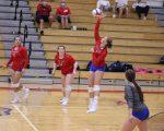 Girls Varsity Volleyball falls to Garrett 3-0