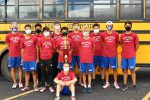 Boys Varsity Cross Country finishes 1st place at Prairie Height Invite