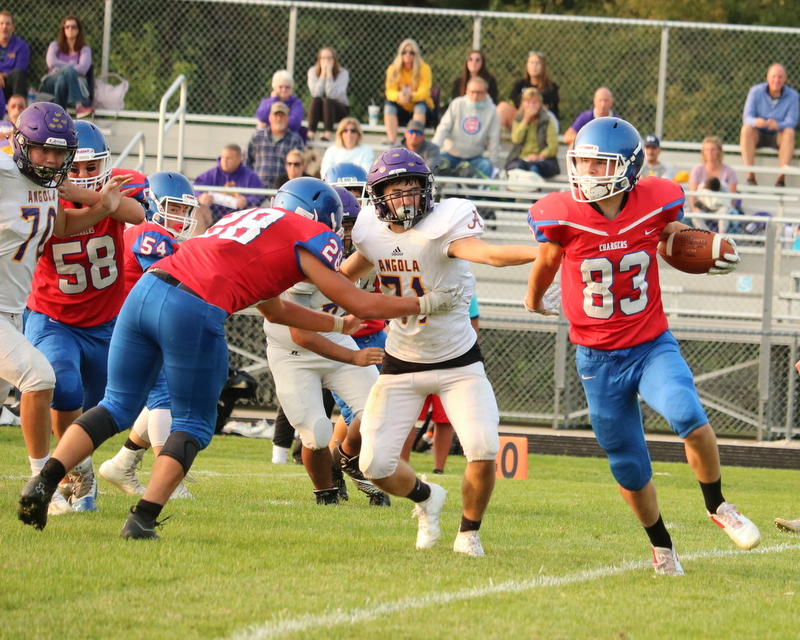 WN JV Football vs Angola 9-14-20