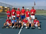West Noble Finishes 3rd in NECC Tennis Tournament