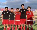 Boys Varsity Soccer beats Garrett 2 – 1