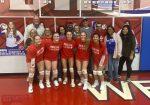 Volleyball Girls Celebrate Senior Night Against Busco