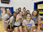Charger Volleyball played a thrilling 5 set match with Prairie Heights