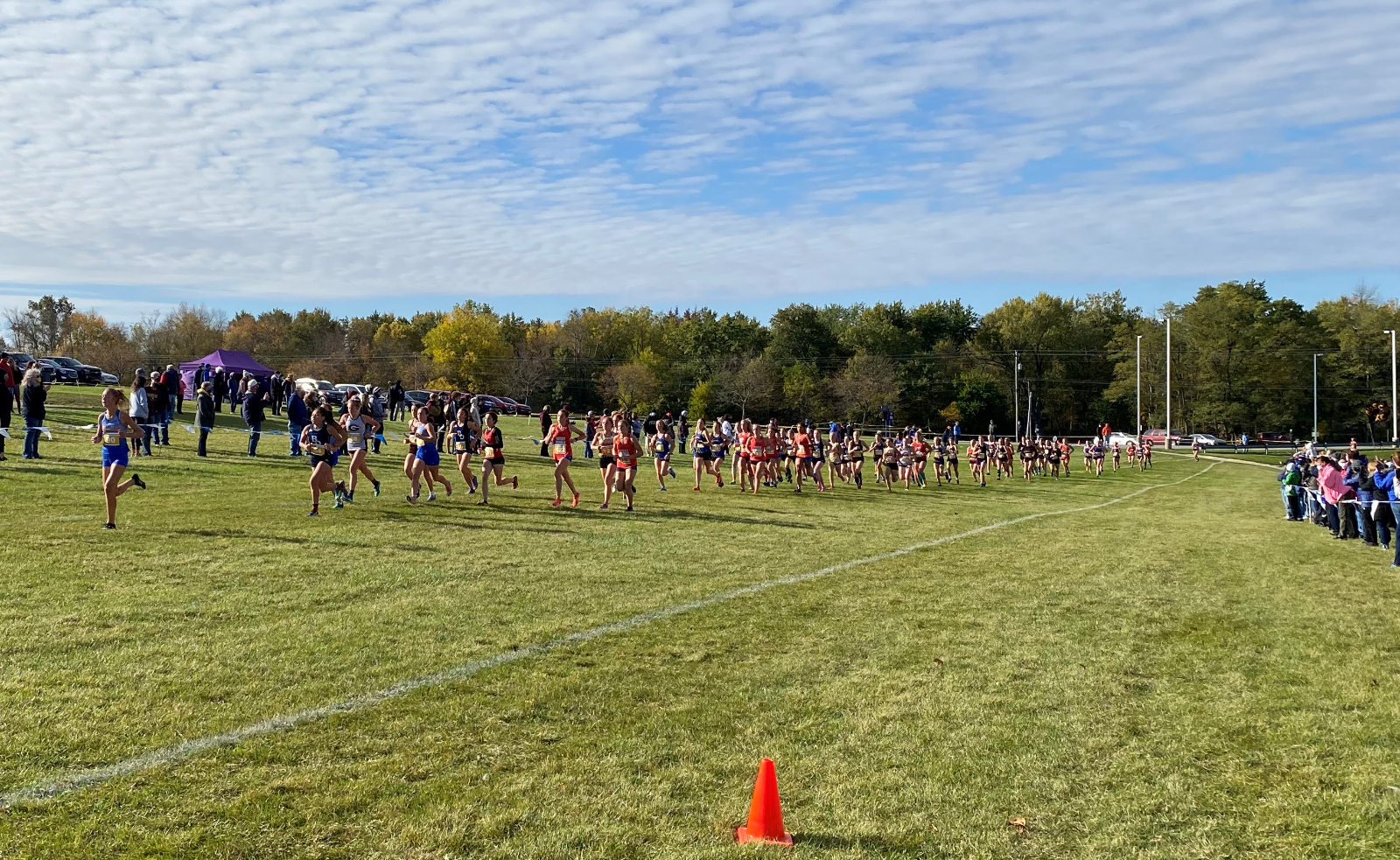 West Noble XC Regional Results