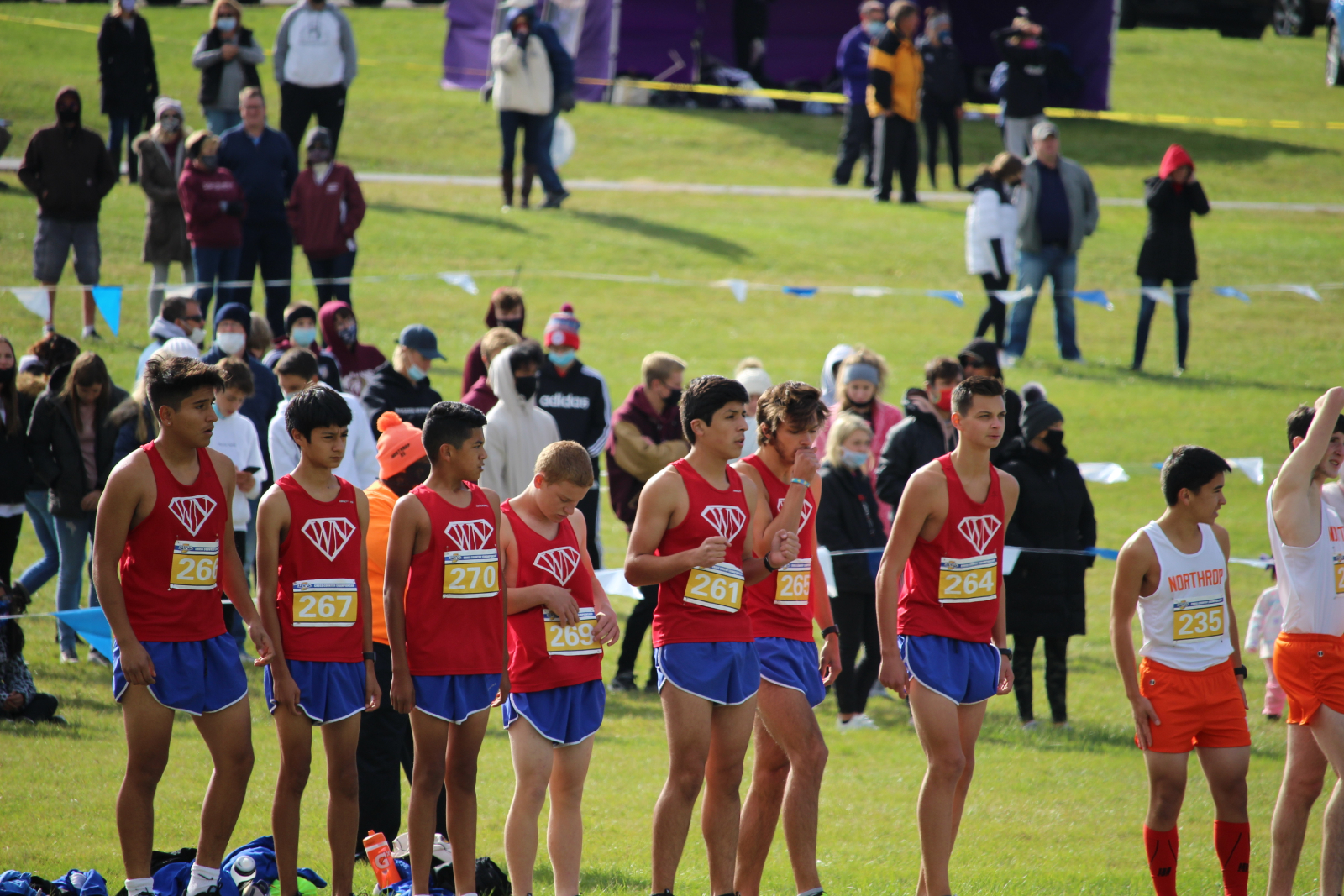 WN Boys CC Regional 10-17-20