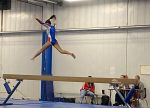 East Noble Edges Out Chargers in Gymnastics
