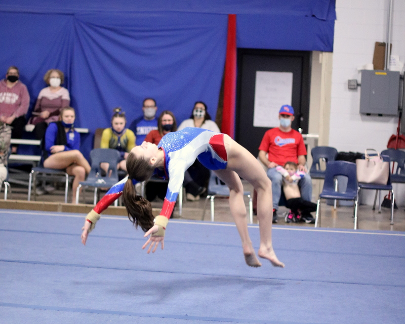 WN Gymnastics vs East Noble 1-7-21