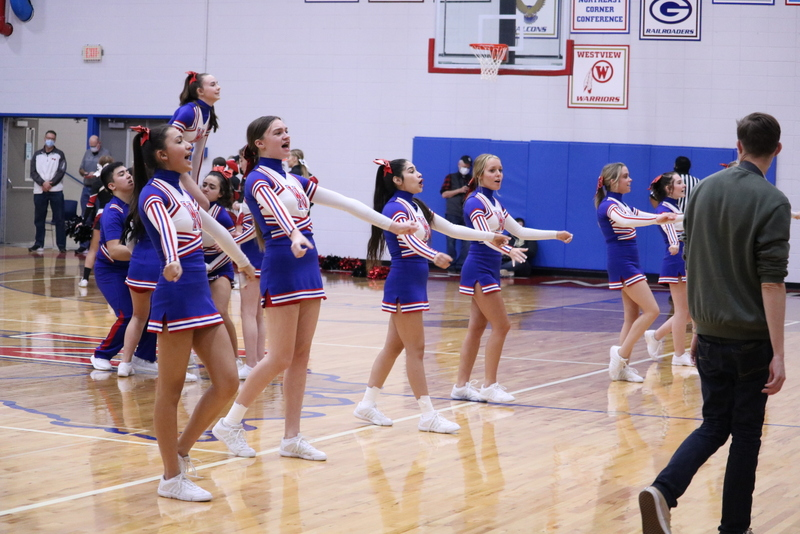 Cheerleading- Sectional Finals 3-6-21