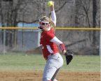 Girls Varsity Softball beats SB Riley in Game 1 11 – 6