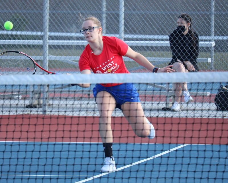 WN Girls Tennis vs Bremen 3-30-21