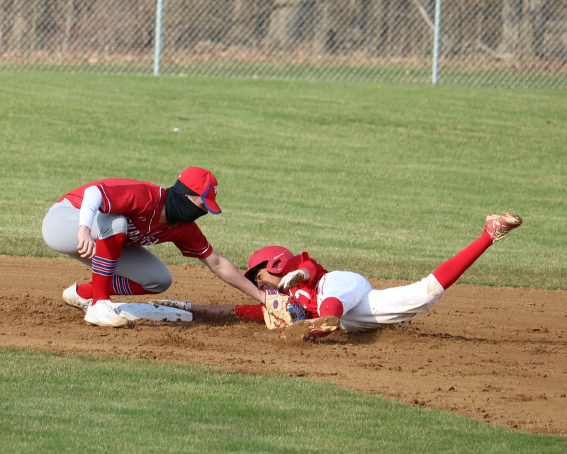 WN Varsity Baseball vs Goshen 3-31-21