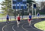 Lady Chargers Top Westview 100-21 in Track