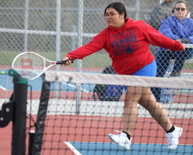 WN Girls Tennis vs Whitko 4-12-21