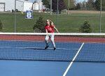 Girls Varsity Tennis beats Churubusco 4 – 1