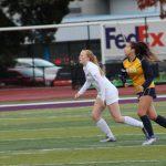 Women's Soccer Dominates Mills 6-0 Behind Fitzgerald's Hat Trick