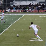 Men's Soccer Falls Late to Burlingame